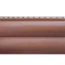 Акриловый сайдинг Красно-коричневый Двухпереломный