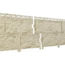 Фасадные панели Ю-пласт Камень Стоун хаус Золотисный
