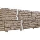 Фасадные панели Ю-пласт Сланец Стоун хаус Бурый