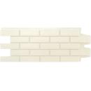 Фасадные панели Grand Line Клинкерный кирпич Стандарт Молочный