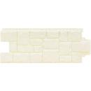 Фасадные панели GL Крупный камень Молочный