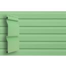 Виниловый сайдинг Grand Line Корабельный брус Салатовый