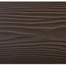 Фиброцементный сайдинг Cedral Коричневая глина