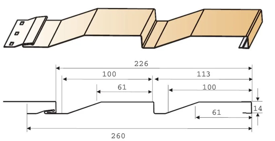 Стандартные параметры сайдинга корабельный брус