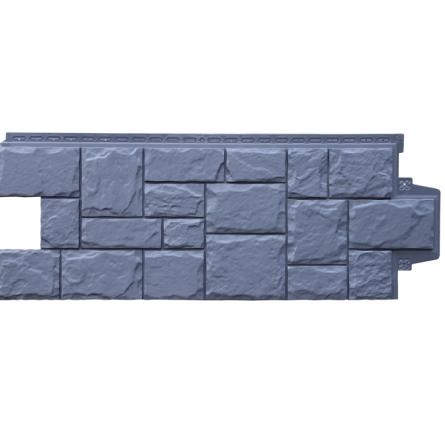 Фасадные панели GL Крупный камень Графит