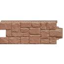 Фасадные панели Элит Крупный камень Миндаль