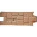 Фасадные панели GL Крупный камень Глина