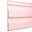 Сайдинг виниловый Tecos Светло-розовый