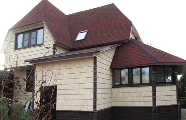 Серия фасадных панелей Щепа Пихта Эко-2 Т-Сайдинг