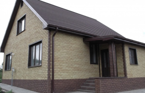 Фасадные панели Альта Профиль  Фагот в оттенке Можайский