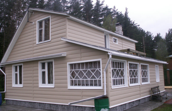 Tecos Ardennes блок хаус в оттенке Бежевый